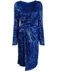 P.A.R.O.S.H. Vestido Runway - Azul