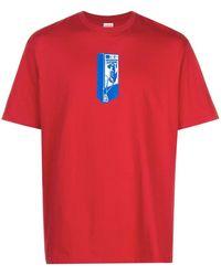 Supreme Payphone Tシャツ - レッド