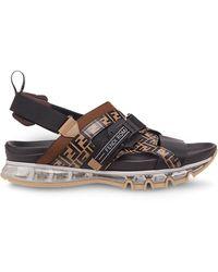 629ebbc9 Ff Buckle Sandals - Black