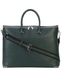 Valextra Klassische Reisetasche - Grün