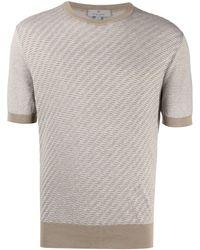 Canali - ファインニット Tシャツ - Lyst