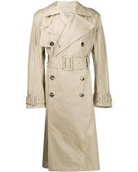 Valentino Uniform Couture トレンチコート - ナチュラル