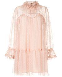Karen Walker Charleston ドレス - ピンク