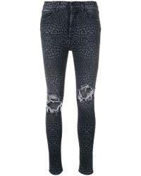 Marcelo Burlon - Leopard Jeans - Lyst
