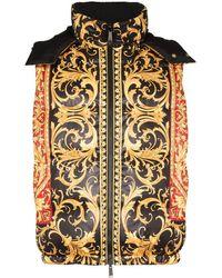 Versace Bodywarmer Met Print - Zwart