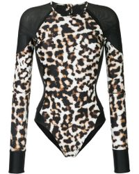 The Upside | Animal Print Paddle Suit | Lyst