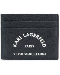 Karl Lagerfeld - K/ikonik クラッチバッグ - Lyst
