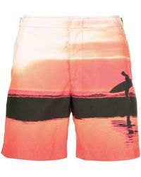 Orlebar Brown - Surfer Swim Shorts - Lyst