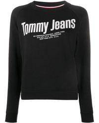 Tommy Hilfiger - Raglan-sleeves Logo Sweatshirt - Lyst