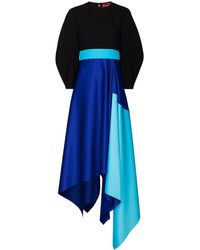 Solace London 'Quinn' Kleid - Blau