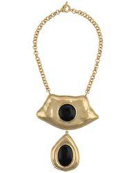 Aurelie Bidermann Honey Necklace - Metallic