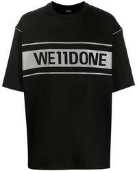 we11done - オーバーサイズ Tシャツ - Lyst