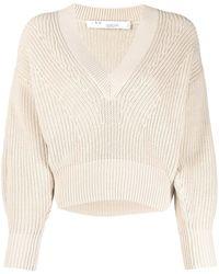 IRO Kiria Ribbed Knit Sweater - Natural