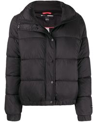 DKNY パデッドジャケット - ブラック
