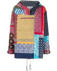 Children of the discordance Paisley-print Hooded Jacket - Multicolour