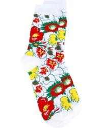 Stella McCartney | Foolish Flowers Socks | Lyst