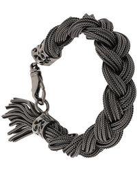 Emanuele Bicocchi - Woven Chains Bracelet - Lyst