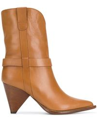 Aldo Castagna - Pointed Ankle Boots - Lyst