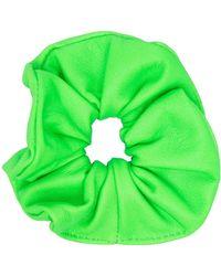 Manokhi Leather Hairband - Green