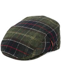 Barbour - Checked Flat Cap - Lyst