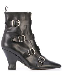 Marc Jacobs St Marks Victorian ブーツ - ブラック