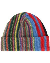 b4ec83cd812 Lyst - Missoni Cable Knit Beanie in Pink