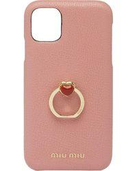 Miu Miu Iphone 11 Pro Hoesje - Roze
