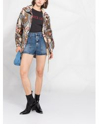 Bazar Deluxe アブストラクトプリント ジャケット - ブラウン