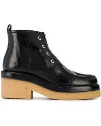 Laurence Dacade ブロックヒール ブーツ - ブラック