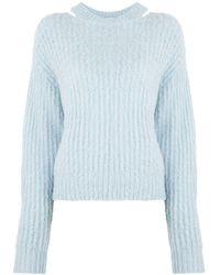 PROENZA SCHOULER WHITE LABEL アルパカ セーター - ブルー