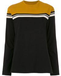 Osklen - Long Sleeved Color Block Top - Lyst