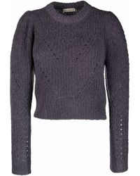 Ulla Johnson Jasper オープンニット セーター - グレー