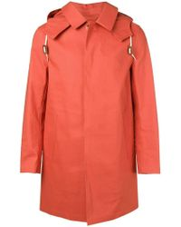 Mackintosh - Jaffa Bonded Cotton Short Hooded Coat Gr-010 - Lyst
