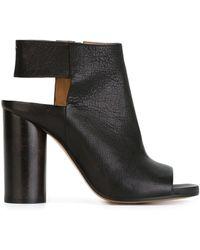 Maison Margiela Chunky Heel Sandals - Black