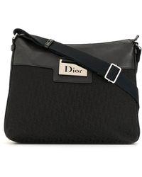 Dior Сумка На Плечо Street Chic С Узором Trotter - Черный