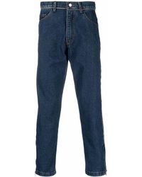 Youths in Balaclava Mid-rise Straight-leg Jeans - Blue