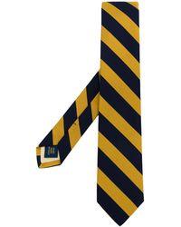 Polo Ralph Lauren Cravate à rayures - Bleu