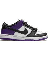 Nike Кроссовки Sb Dunk Low - Пурпурный