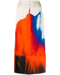 Colville ストレートスカート - オレンジ