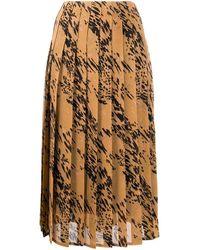 Calvin Klein プリーツ スカート - マルチカラー