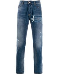 DIESEL Slim-fit Jeans - Blauw