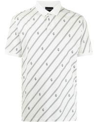 Emporio Armani - モノグラム ポロシャツ - Lyst