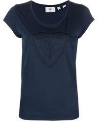 Rossignol T-shirt con stampa - Blu