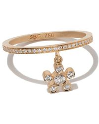 Sophie Bille Brahe - 18kt Yellow Gold Amelia Soliel Ring - Lyst