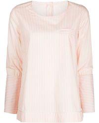 Morgan Lane April Striped Top - Pink