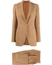 Tagliatore Slim Fit Suit - Multicolor