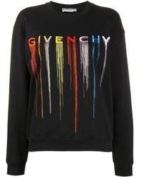 Givenchy ロゴ スウェットシャツ - ブラック