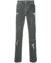 Givenchy - Distressed Skinny Jeans - Lyst