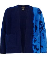 Suzusan Ausgeblichener Cardigan - Blau