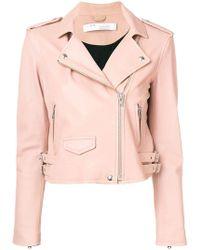 IRO - Zipped Biker Jacket - Lyst